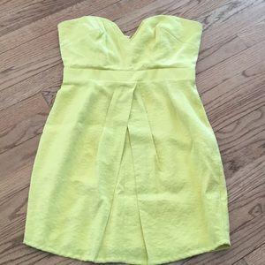 Walter by Walter Baker yellow dress sz M